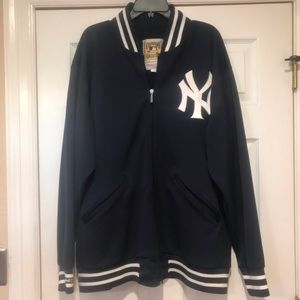 NY Yankees Authentic Cooperstown Collection Jacket